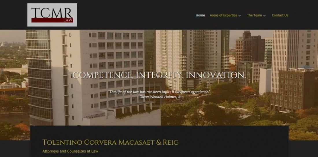Website Design Project - TCMR Law